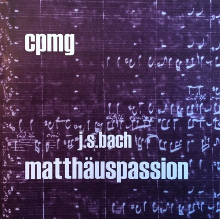bach: matthäuspassion