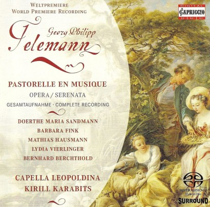 world premiere recording G.Ph.Telemann: pastorelle en musique